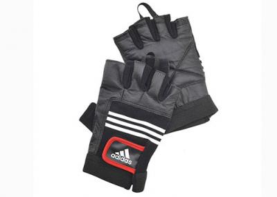 Перчатки тяжелоатлетические (кожа), Арт. ADGB-12124, S/M
