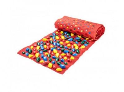 Коврик-дорожка массажный с цветными камнями № 2 (150x40 см)