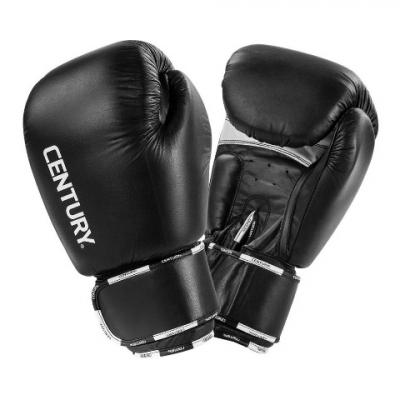 Боксерские перчатки Century Creed кожа, черн 20 унц, Арт. 146002-20