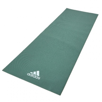 Коврик (мат) для йоги Adidas, цвет свеже-зеленый, Арт. ADYG-10400RG