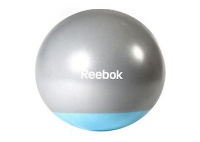 Гимнастический мяч Reebok серо-голубой, Арт. RAB-40016BL